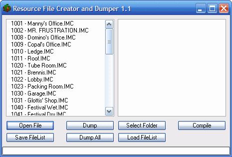 Resource File Creator and Dumper