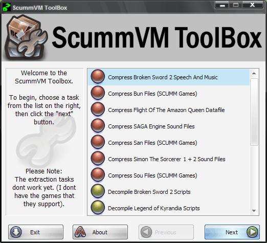 ScummVM ToolBox