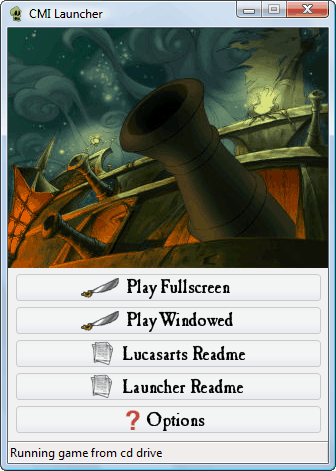 Curse of Monkey Island Launcher