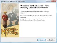 Escape From Monkey Island Setup