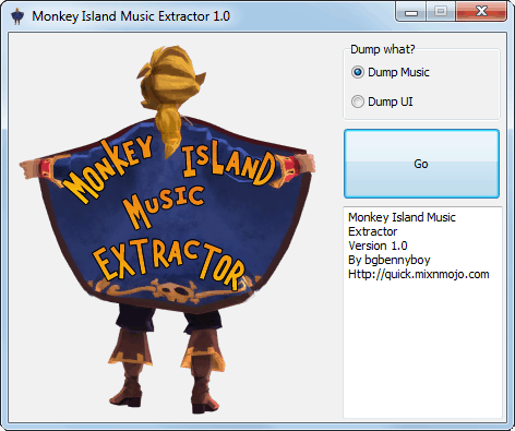 Monkey Island Music Extractor