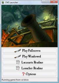 Curse of Monkey Island Launcher