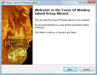 Curse of Monkey Island Setup